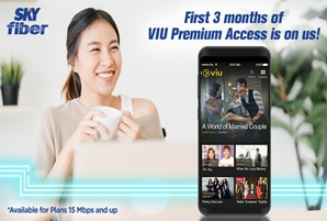 Hallyu and rom-com series delight VIU subscribers on SKY Fiber this June