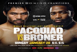 K.O. eyed in upcoming Pacquiao vs. Broner bout