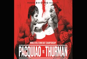 Pacquiao-Thurman to air exclusively on ABS-CBN platforms