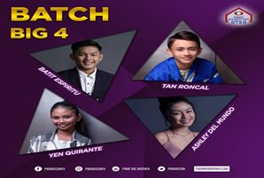 Batit, Tan, Ashley, and Yen complete batch three big four
