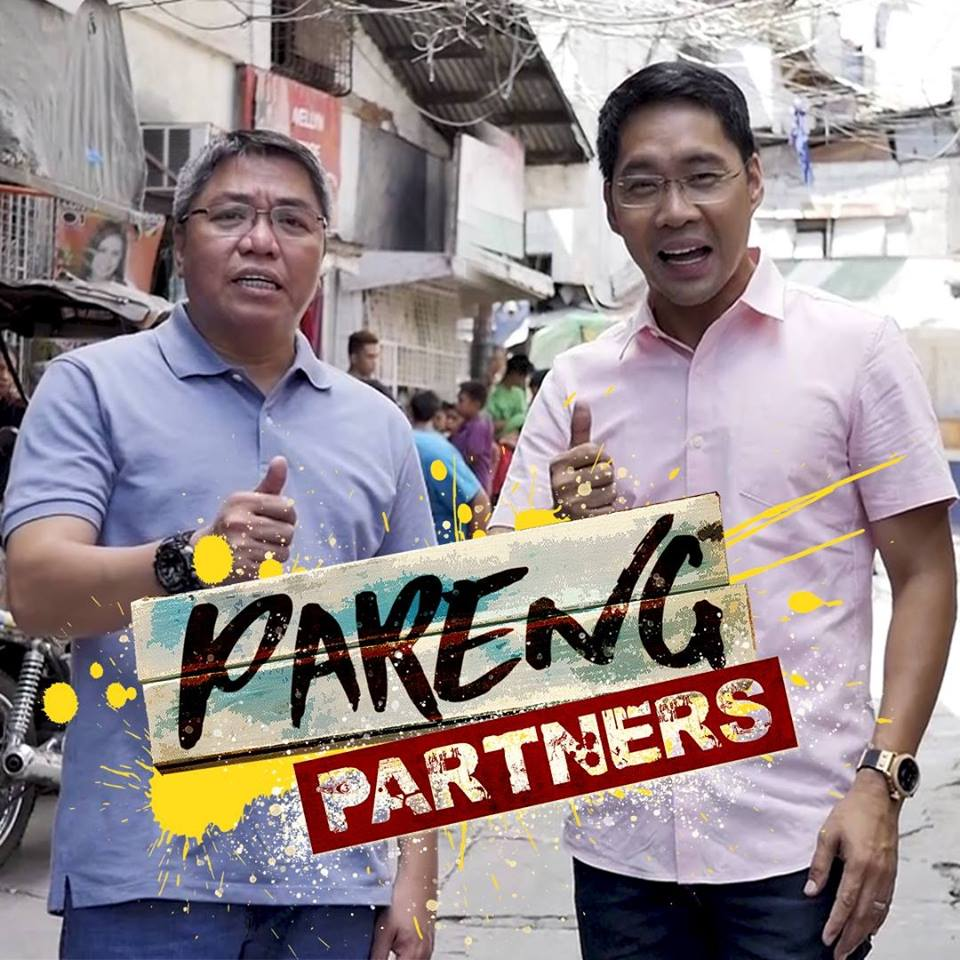 Spend your weekends with the Pareng Partners Jorge and Anthony