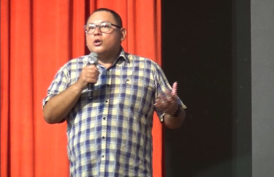 Leo Katigbak discusses ABS CBN Film Restoration Project's efforts to save Filipino classics at the Pinoy Media Congress Year 13