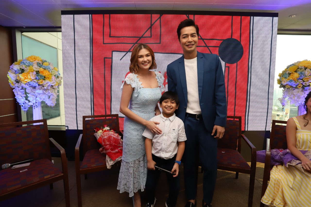 Angelica Panganiban, Zanjoe Marudo, and Justin James Quilantang