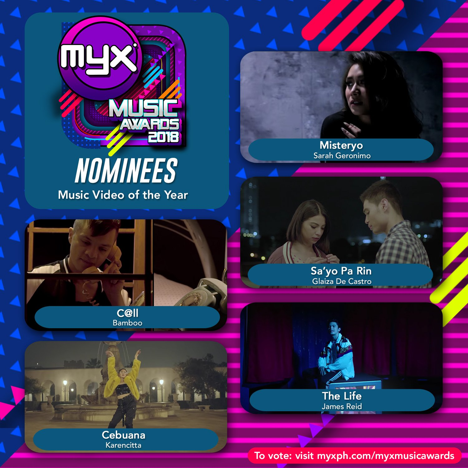 NOMINEES Music Video of the Year