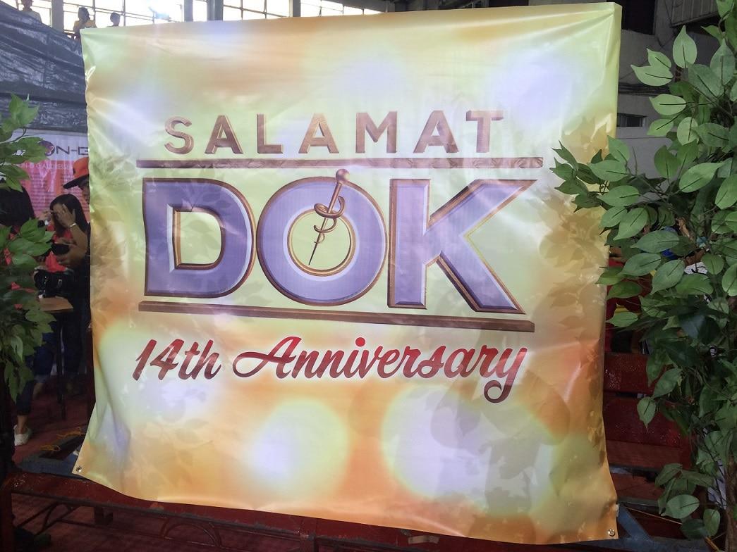Tumulak sa Taytay, Rizal ang Salamat Dok para ipagdiwang ang ika 14 anibersaryo nito sa pamamagitan ng isang medical mission