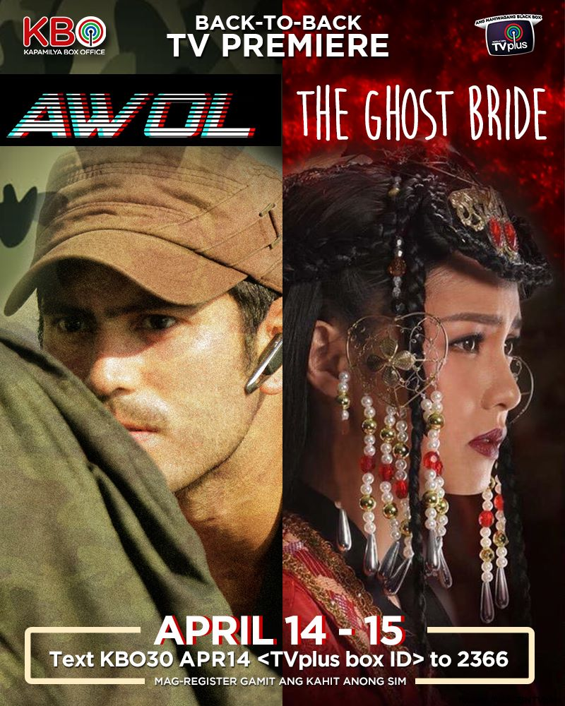 AWOL at Ghost Bride sa KBO ngayong weekend