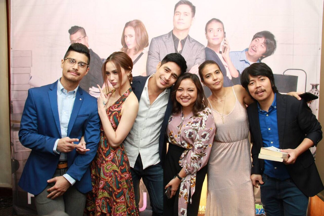 The cast of Since I Found You with direk Antoinette Jadaone
