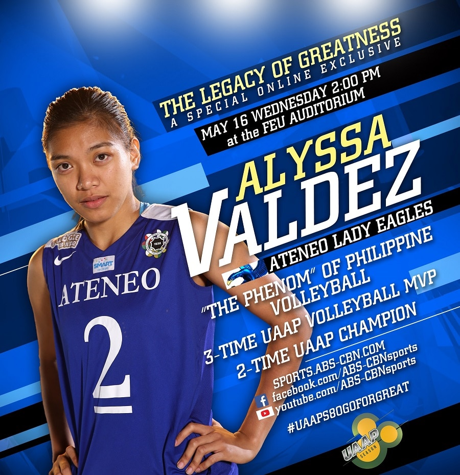 "UAAP Greats assemble in ABS-CBN Sports' ""The Legacy of Greatness"" online special"