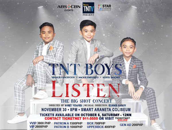 TNT Boys conquer Araneta Coliseum in first major concert on November 30