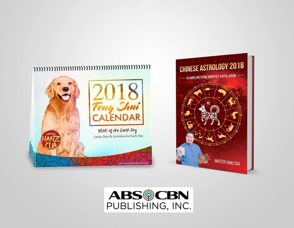 CHINESE ASTROLOGY 2018 WITH THE FENG SHUI CALENDAR, ALSO BY MASTER HANZ CUA