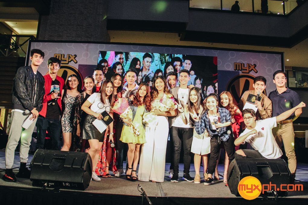 MYX VJs with the MYX VJ Search 2018 finalists