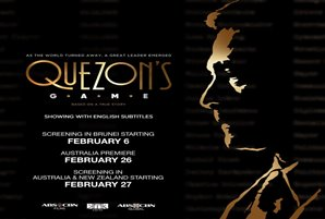 Internationally acclaimed Quezon's Game rolling out across Asia Pacific in February