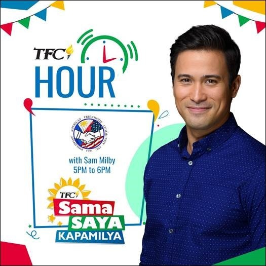 FilAm Sam Milby goes coast-to-coast for TFC Hour this weekend with another headline performance at PAFCOM Parade & Festival in NJ on June 23