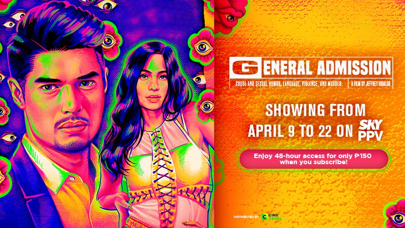 Intense drama film 'General Admission' also airs on SKY Pay Per View this April