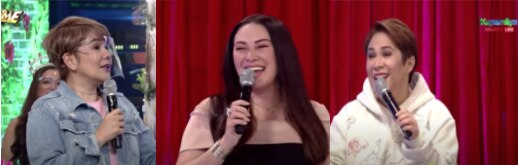 AMY AND JANICE THINK ONLY RUFFA CAN GET AWAY WITH HER STATEMENTS IN _IT'S SHOWTIME_ 4