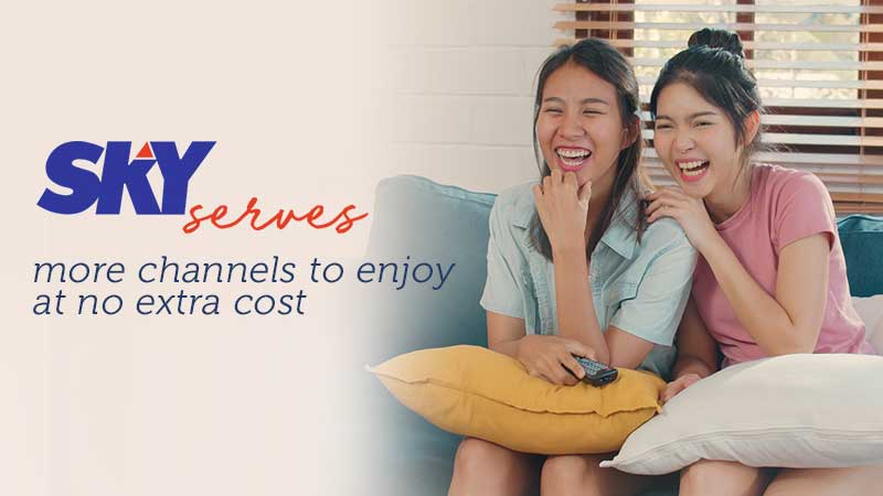 SKYcable  extends access to more channels until May 31