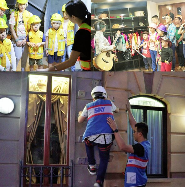 SKY'S loyal subscribers have a family bonding day at Kidzania