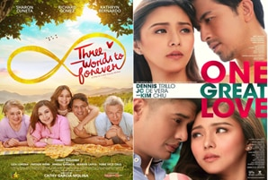 """Three Words to Forever"" and ""One Great Love,"" air on KBO"
