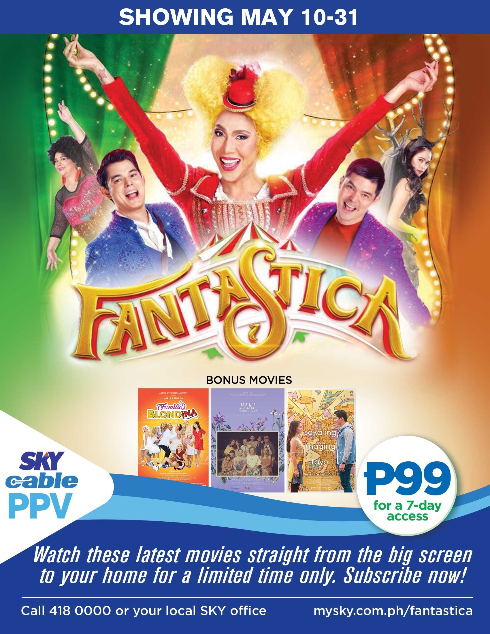 VIice and Coco's blockbuster movies on SKYCable Pay-Per-View