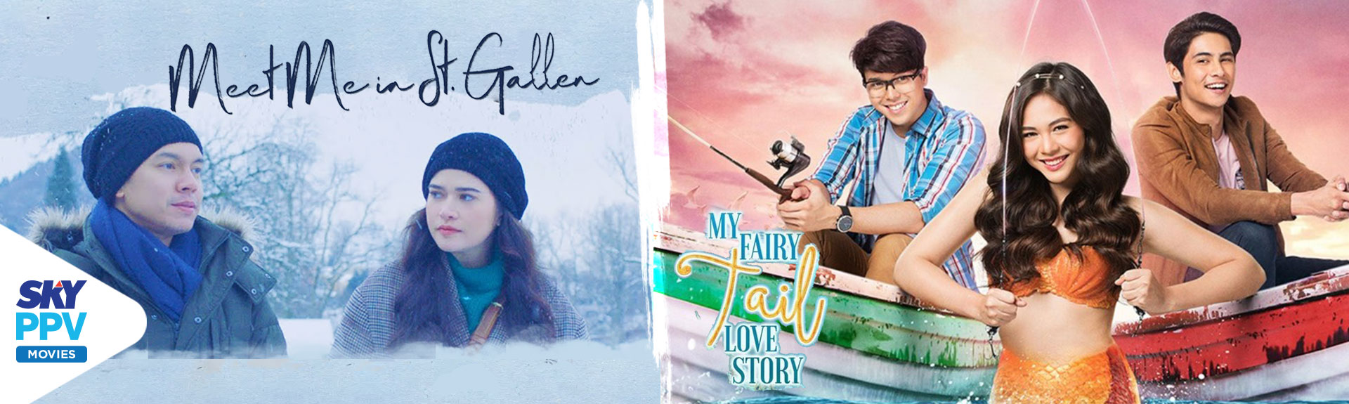 """My Fairy Tail Love Story""  and ""Meet Me in St. Gallen"" now on SKY Movies Pay-Per-View"