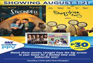 """Sunshine Family"" and ""Stranded"" premiere on SKY Pay-Per-View this August"