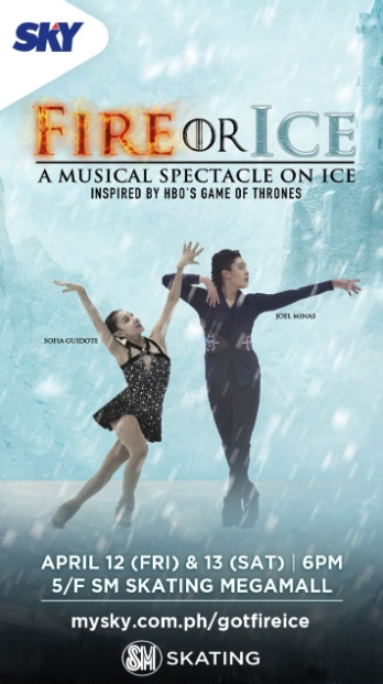 """SKY brings """"Fire or Ice: A Musical Spectacle"""" in SM Megamall"""