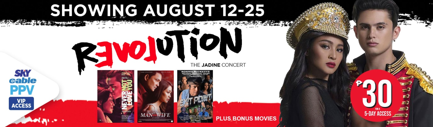 "Catchup on JaDine's ""Revolution"" Concert on SKYcable PPV"