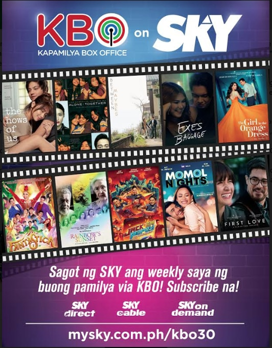 """KBO now available on SKY, premieres """"Between Maybes"""" and """"MOMOL Nights"""""""