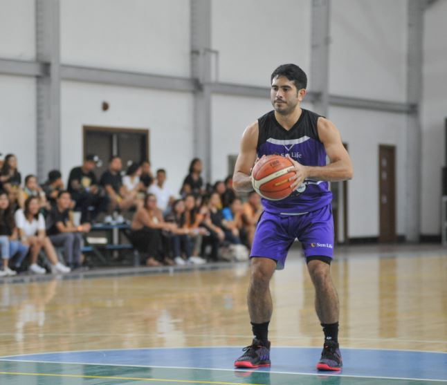 Gerald Anderson at the Sun vs Stars Star Magic Sportsfest