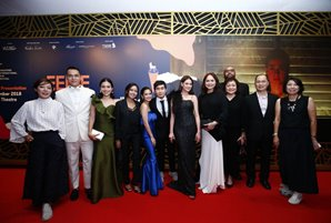 "Charo, Bea grace World Premiere of ""Eerie"" at Singapore International Film Festival"