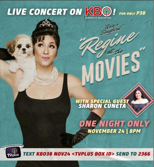 Regine concert airs live on KBO