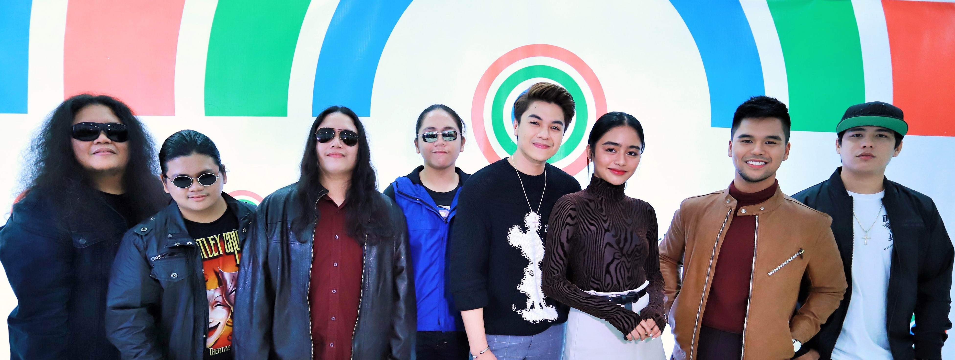 Watch out for the upcoming projects of these newly signed Star Music artists From left Solabros com, CK Kieron,Vivoree Esclito, JMKO and Kritiko