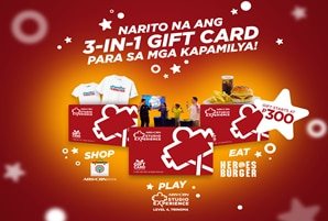 ABS-CBN Studio Experience ushers in the holiday season with three-in-one gift cards