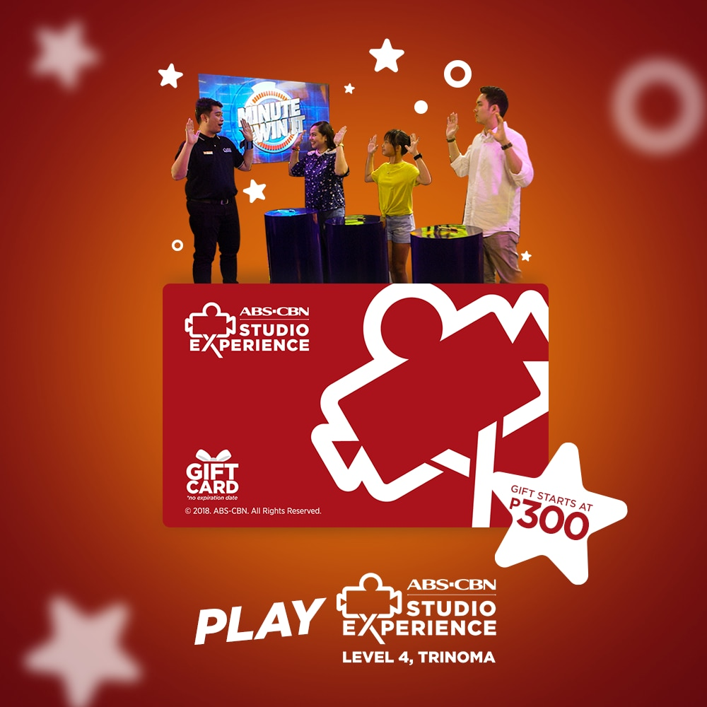 Buy an XPass to play inside the ABS CBN Studio Experience