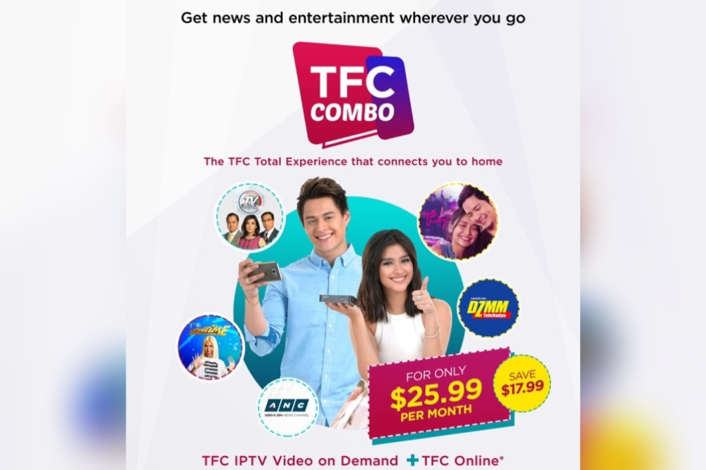 TFC Combo offers Filipinos in Japan access to a bouquet of Pinoy news and entertainment on any device