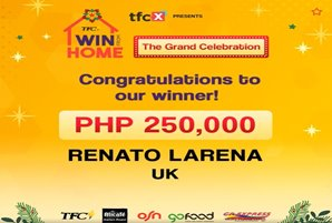"OF from Europe is the grand prize winner of ""TFC Win from Home"""