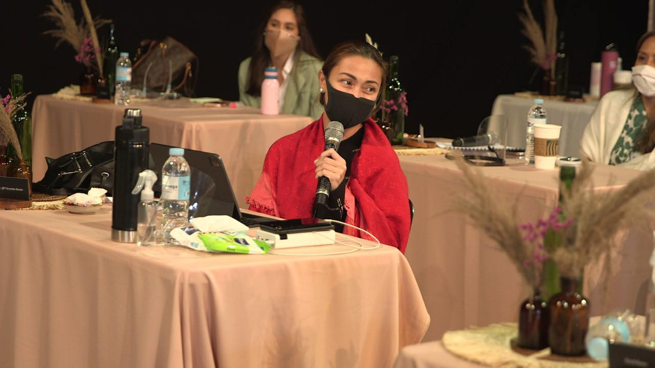 Jodi Sta  Maria at The Broken Marriage Vow cast table read
