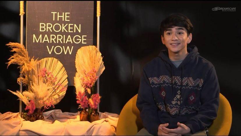 Zaijian Jaranilla in The Broken Marriage Vow cast table read