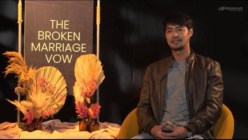 Zanjoe Marudo in The Broken Marriage Vow cast table read