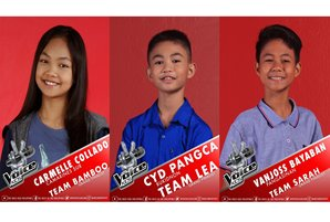 "Carmelle, Cyd, and Vanjoss woo public for votes to become newest ""The Voice Kids"" grand winner"