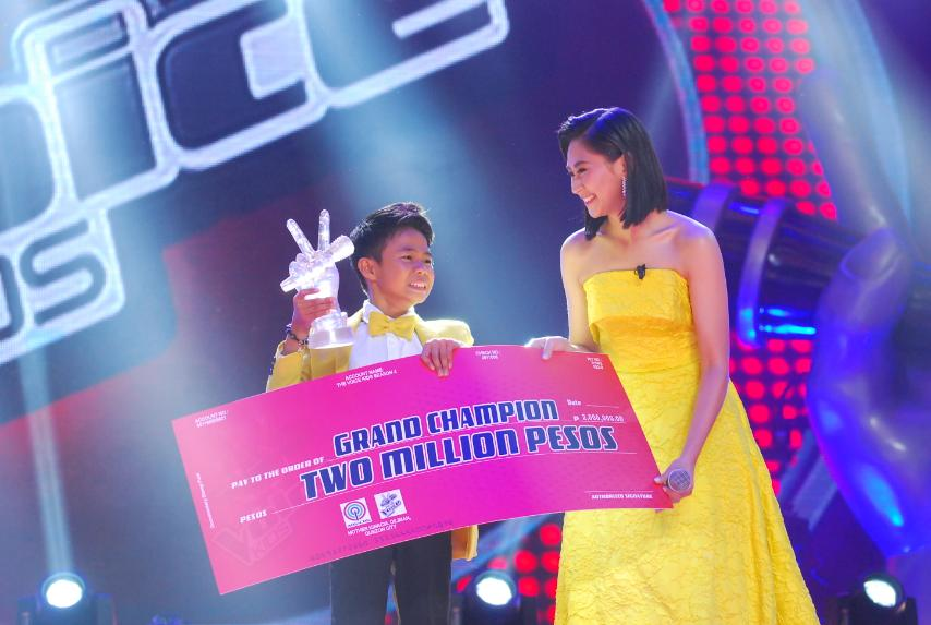 "Vanjoss of Team Sarah wins 4th season of ""The Voice Kids"""
