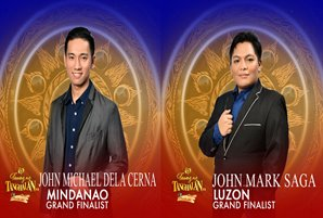 "John Michael and John Mark named newest grand finalists of ""Tawag ng Tanghalan"""