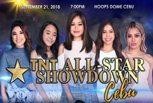 TNT singers bring historic all-star showdown to Cebu this September