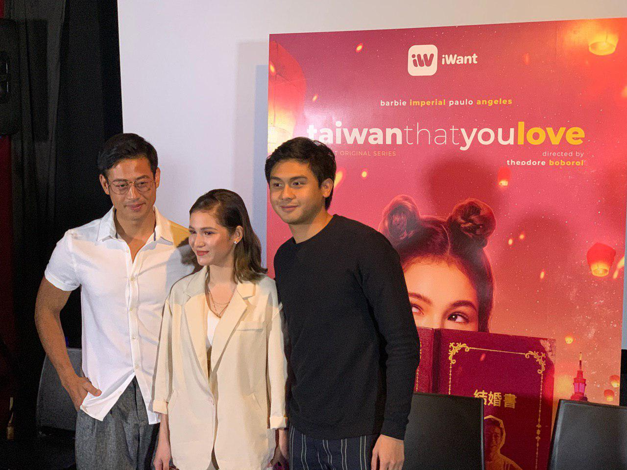 "Barbie, Paulo, and Stephen entangled in a love triangle in iWant's ""Taiwan That You Love"""
