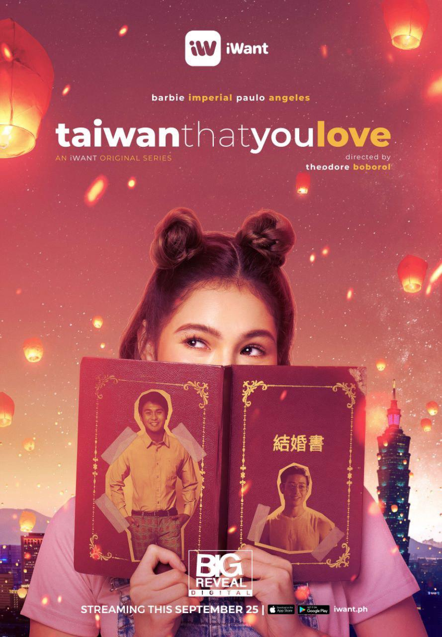 Stream Taiwan That You Love on iWant starting September 25