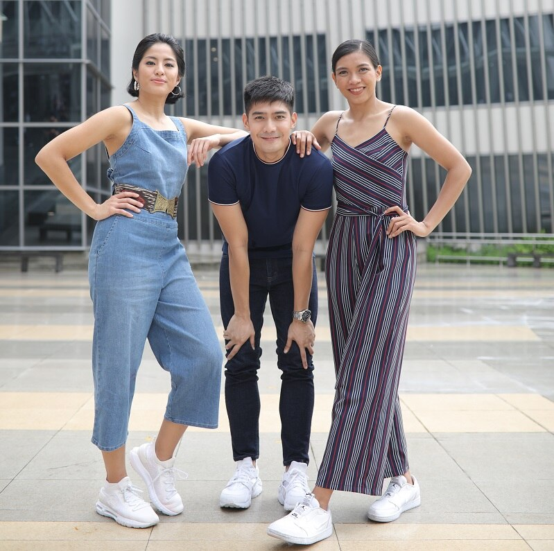 It's a homecoming for Gretchen, Robi, and Alyssa this Saturday