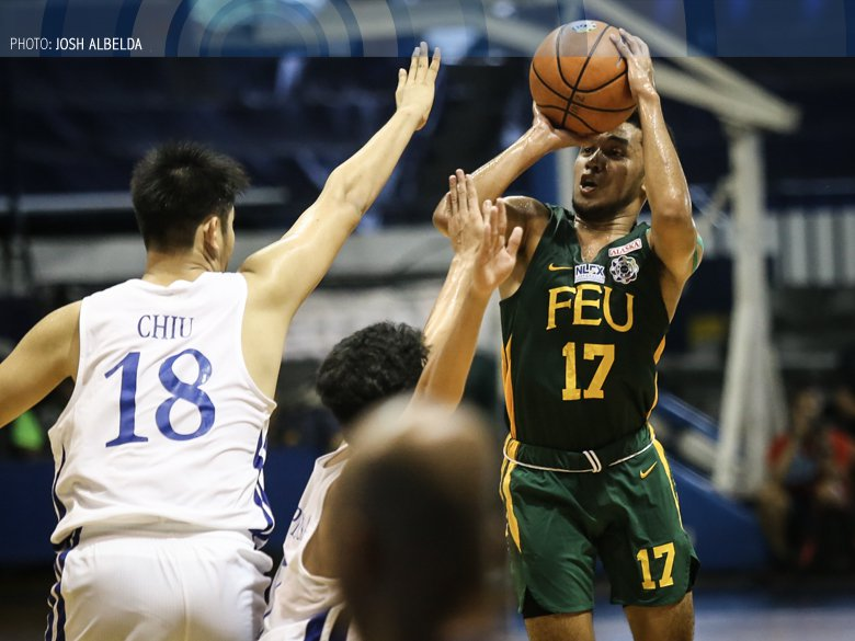 RJ Abarrientos hopes to live up to the name on his back in carrying the FEU Baby Tamaraws