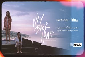 Restored version of Kathryn and Julia's 'Way Back Home' streams on KTX.ph