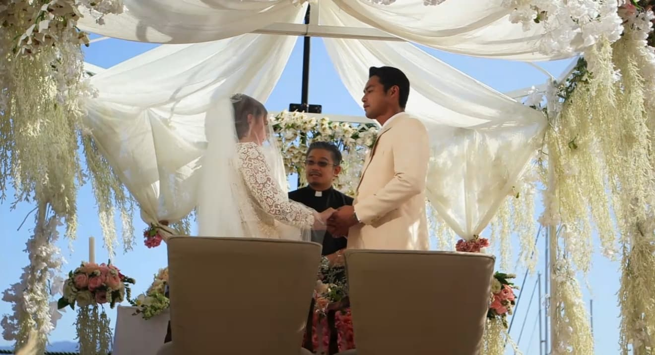 Celine (Angelica Panganiban) and Anton (Zanjoe Marudo) wedding