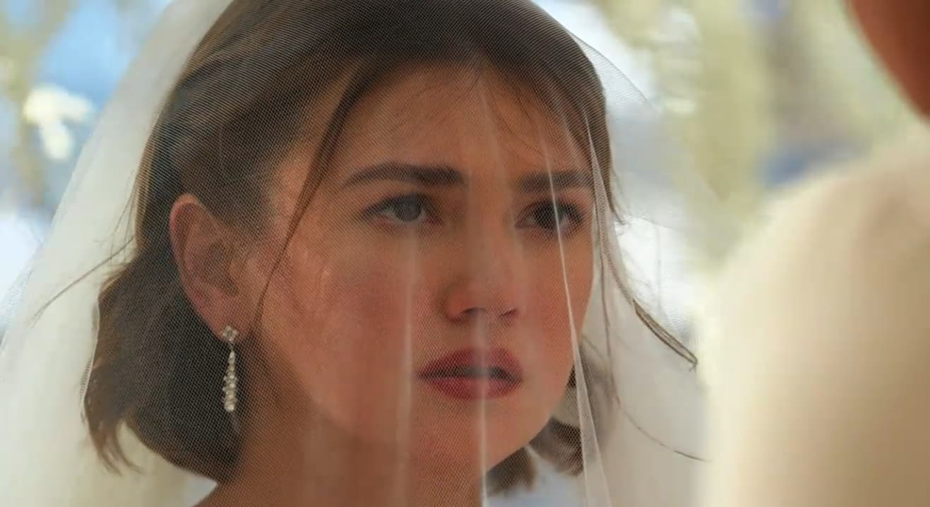 Celine (Angelica Panganiban) at her wedding